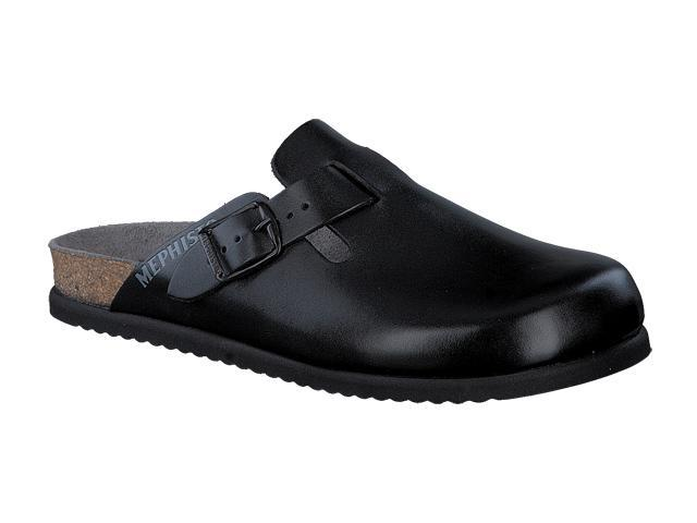 Mephisto Nathan - Black smooth Leather