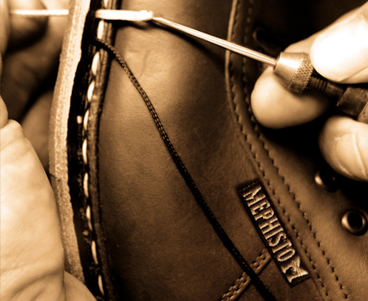 Renovation service for MEPHISTO footwear - total as new valet service