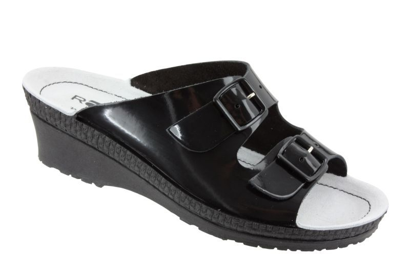 Rohde 1463-91 Black patent leather