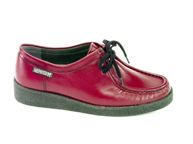 Mephisto CHRISTY - Red softcalf leather
