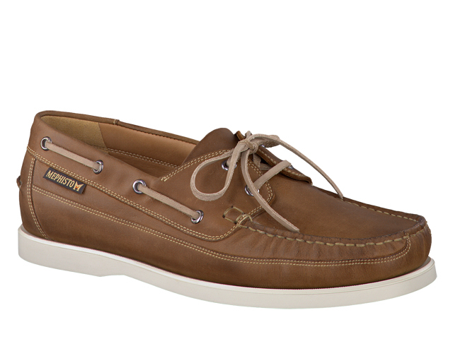SALE Mephisto Boating - Desert Brown grizzly Leather