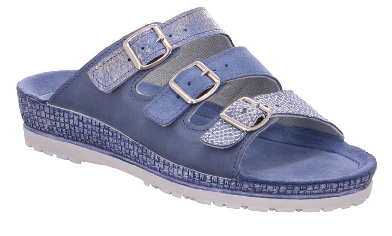 Rohde 1415-55 Jeans Blue Multi softnappa leather