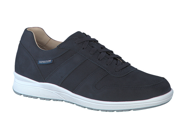 SALE Mephisto Vito Perforated - Navy sportbuck leather/breathing mesh