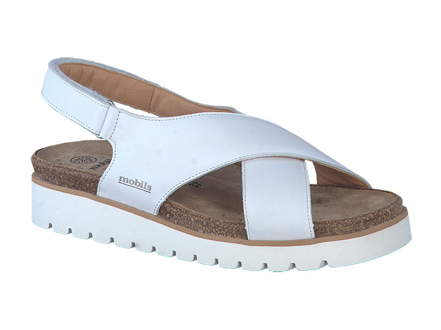 Mephisto Tally - White supersoft leather