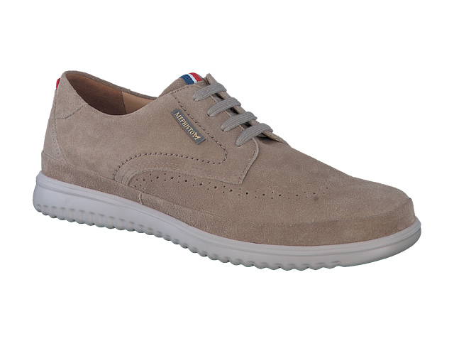 Mephisto Thibault - Taupe washable suede leather