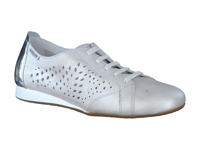 Mephisto Belisa Perforated - Off White softy leather