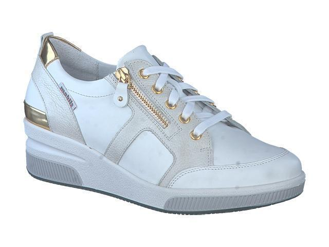 Mephisto Trudie - Ice White supersoft silk finish leather