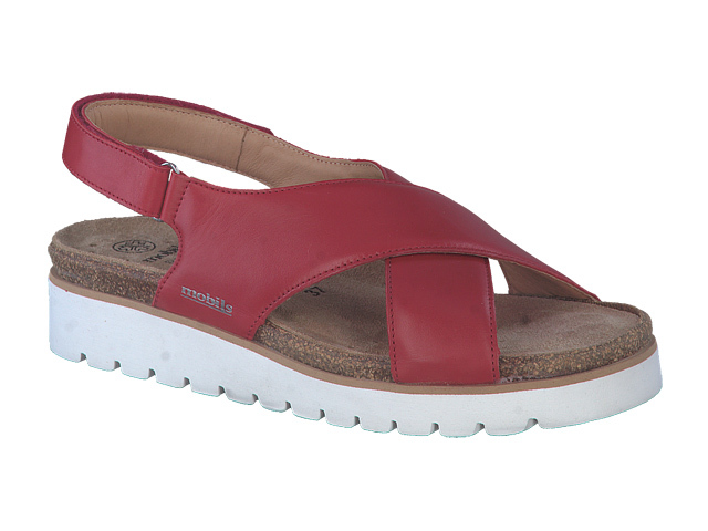Mephisto Tally - Scarlet supersoft leather