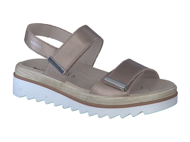 SALE Mephisto Dominica - Pewter supersoft leather