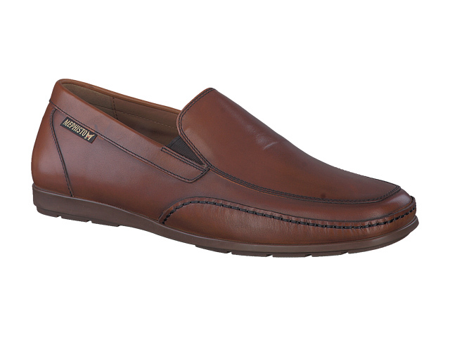 Mephisto Andreas - Brandy smooth leather