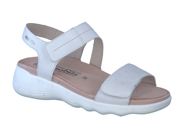 Mephisto Maureen - White supersoft padded leather