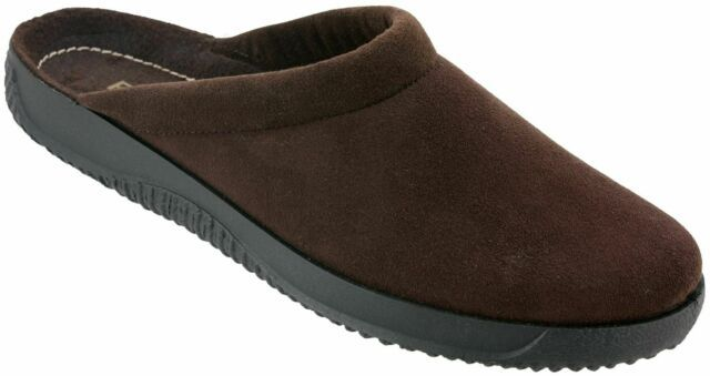 Rohde 2773-72 Brown Microvelour Mule*