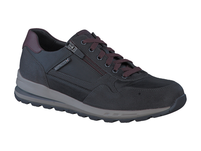 Mephisto Bradley - Charcoal Grey Old Velsport Leather