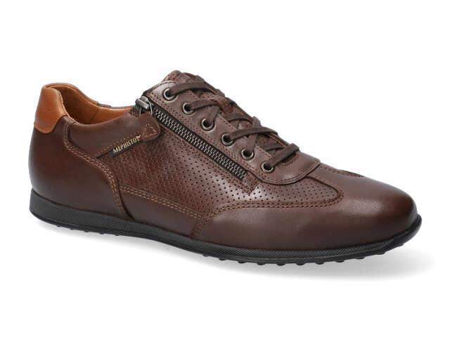 Mephisto Leon -  Brown smooth randy leather