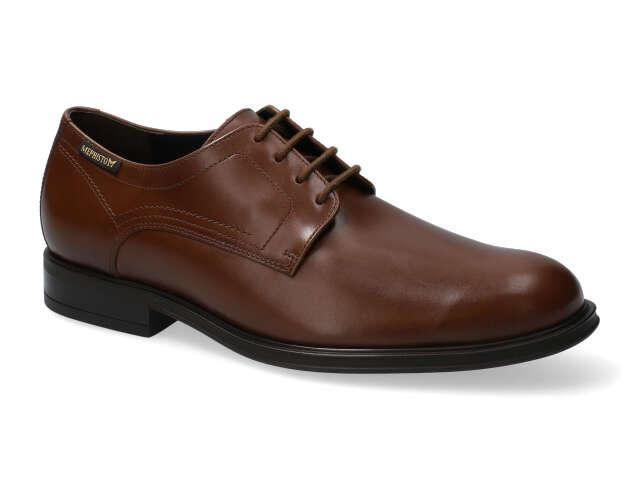 Mephisto Kevin - Chestnut Brown polished calf leather