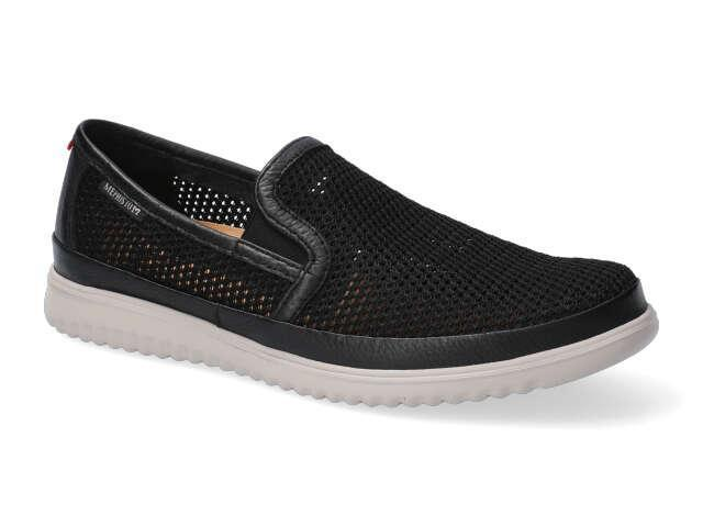 Mephisto Terry Perforated - Black supersmooth leather
