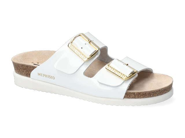 Mephisto Hester - White patent soft Leather