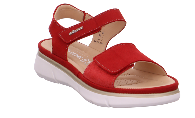 Rohde 5308-41 Red washable bucksoft leather