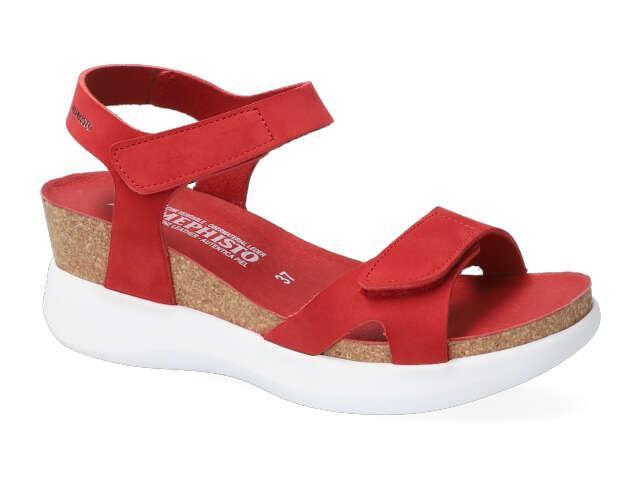 Mephisto Coraly - Red supersoft Leather