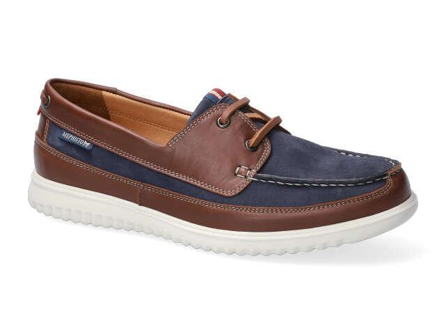 Mephisto Trevis - Navy washable leather
