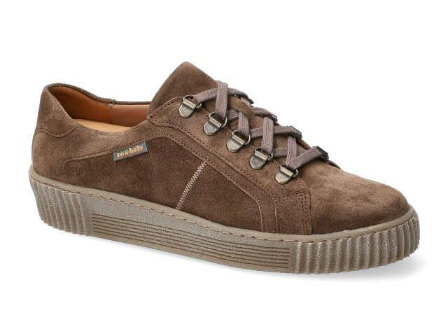 Mephisto Edena - Taupe washable suede leather