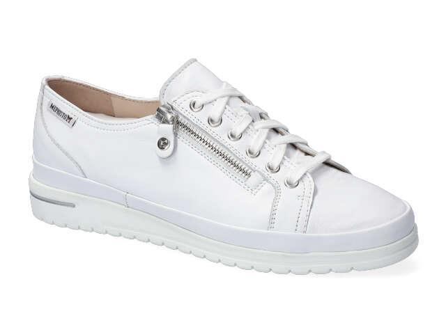 Mephisto June - White smooth supersoft leather