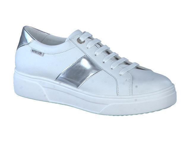 Mephisto Fay - White supersoft silk leather