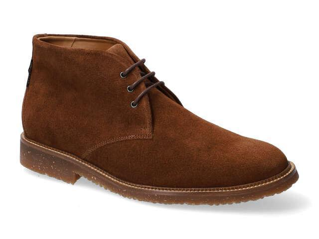 Mephisto Polo - Brown velours high quality Leather