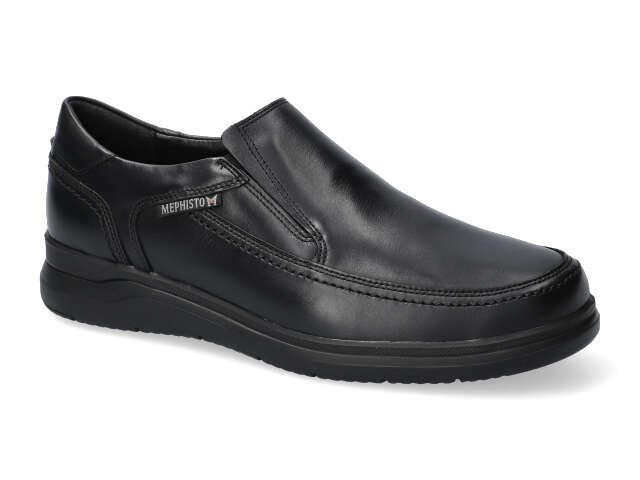 Mephisto Andy -  Black supersoft calf leather