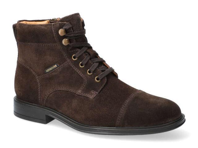 Mephisto Kolby - Brown velours high quality Leather