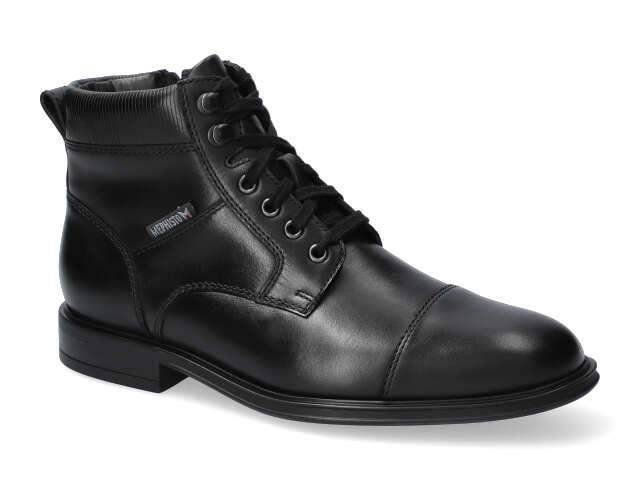 Mephisto Kolby - Black supersoft  high quality Leather